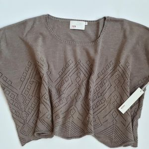 Yoon Sweater Taupe Wool Cashmere Blend